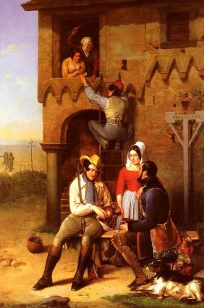 Flirtation At The Town Gate